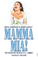 Affiche Mamma Mia the Musical au Novello Theatre